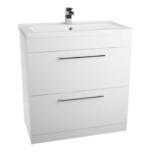Aquabro Idon 800 2 Drawer Basin Unit