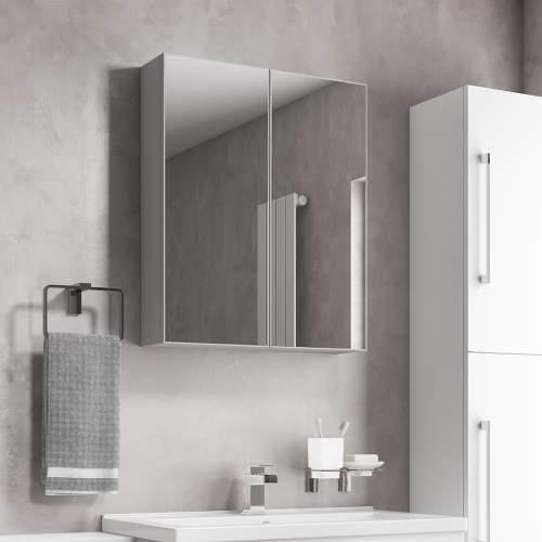 Aquabro Wall Hung Mirror Cabinet