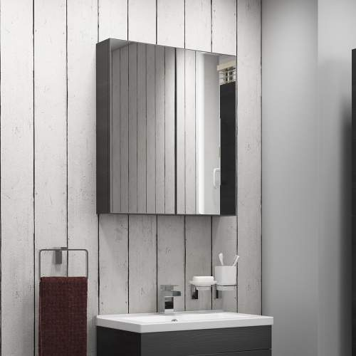 Aquabro Wall Hung Mirror Cabinet