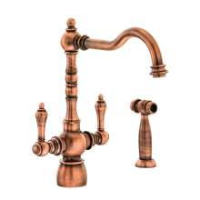 Abode BAYENNE Kitchen Tap With Handspray in Century Copper - AT3086