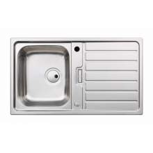 Abode Neron Single Compact Bowl Stainless Steel Kitchen Sink - AW5111