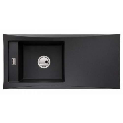 Abode Londa Single Bowl Metallic Granite Kitchen Sink - AW3151