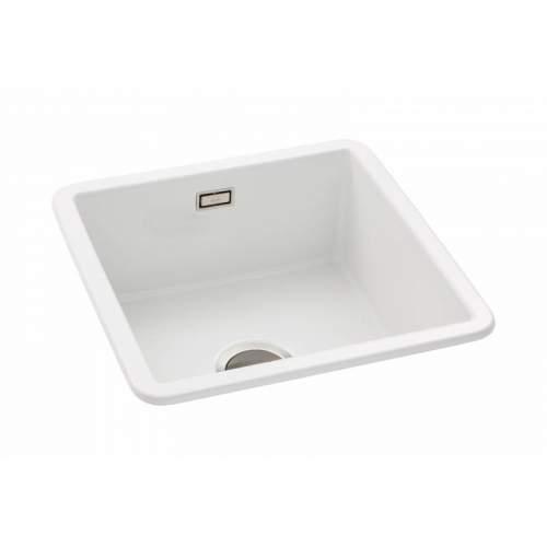 Abode SANDON 1.0 Bowl Ceramic Kitchen Sink - AW1030