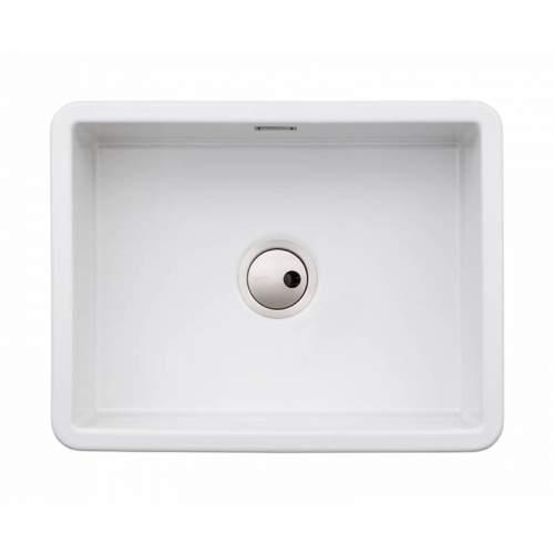 Abode SANDON Large Bowl Ceramic Kitchen Sink - AW1031