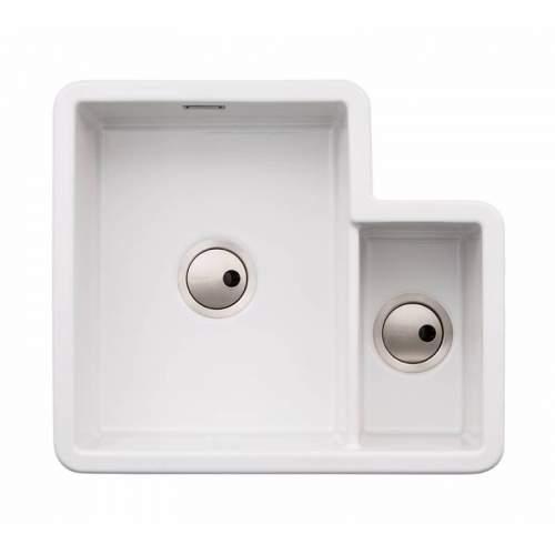Abode SANDON 1.5 Bowl Ceramic Kitchen Sink - AW1032