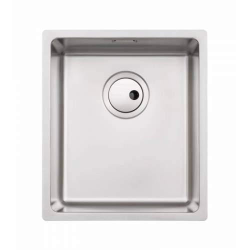 Abode Matrix R15 1.0 Bowl Compact Kitchen Sink - AW5121