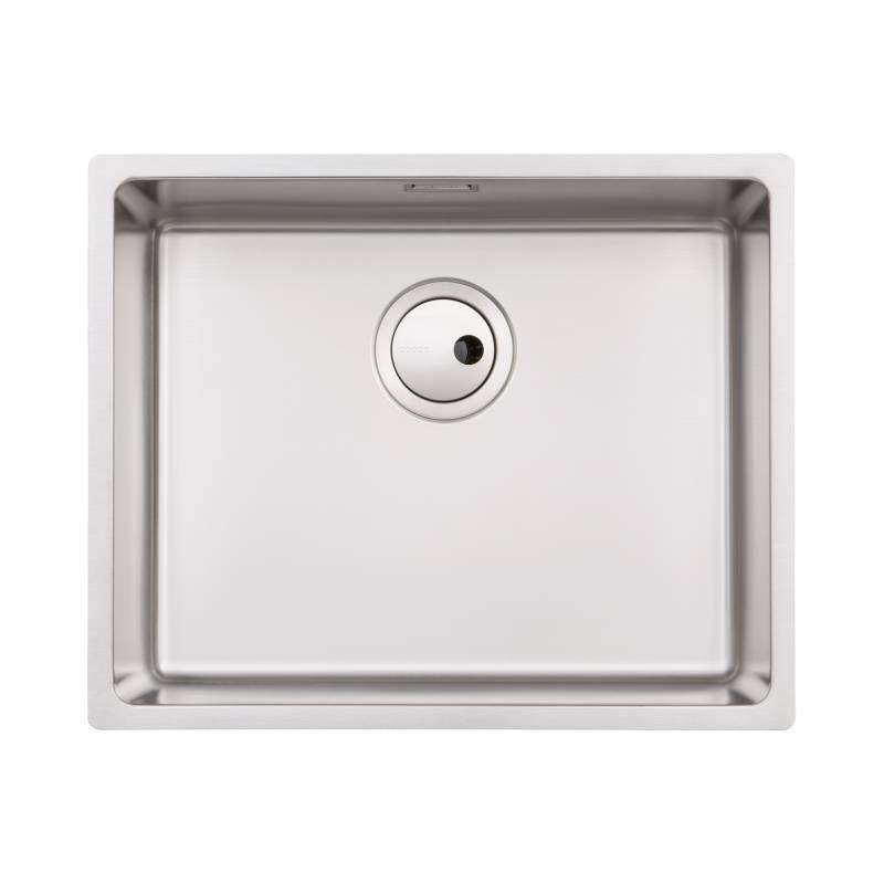 Abode Matrix R15 Large 1.0 Bowl Kitchen Sink - AW5122 - Sinks-Taps.com