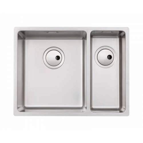 Abode Matrix R15 1.5 Bowl Kitchen Sink - AW5124