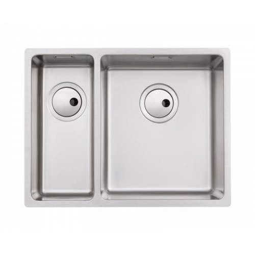 Abode Matrix R15 1.5 Bowl Kitchen Sink - AW5126