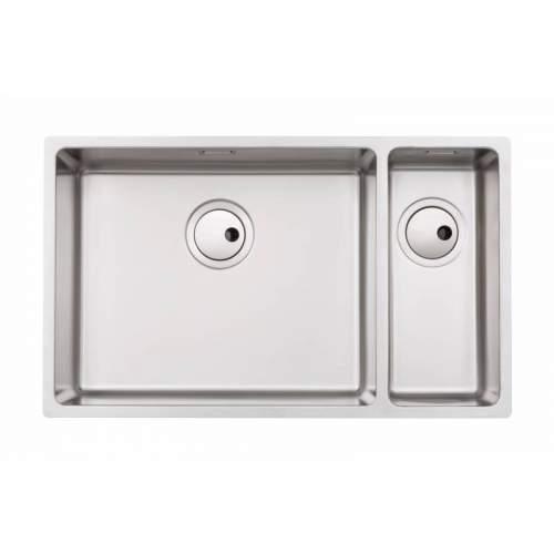 Abode Matrix R15 Large 1.5 Bowl Kitchen Sink - AW5125