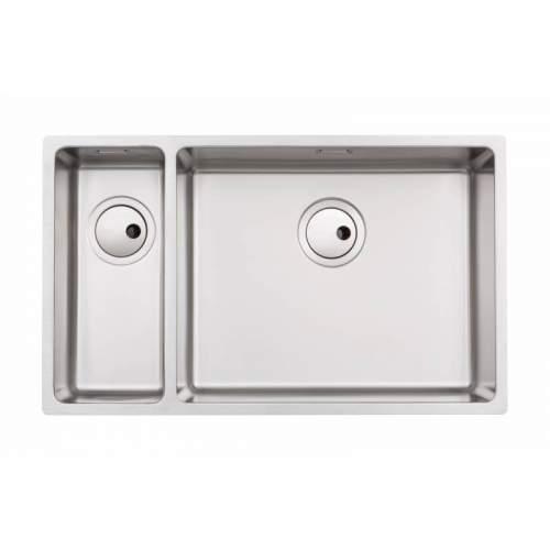 Abode Matrix R15 Large 1.5 Bowl Kitchen Sink - AW5127