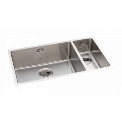 Abode Matrix R15 Large 1.5 Bowl Kitchen Sink - AW5125 & AW5127