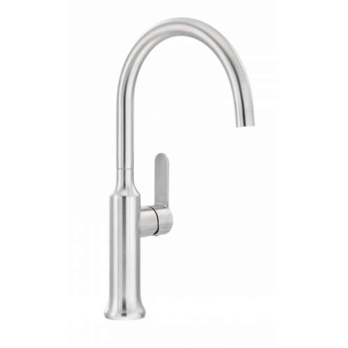 Abode BOTTILIA Single Lever Stainless Steel Kitchen Tap - AT2082