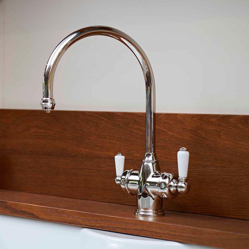 Perrin & Rowe Polaris 3 in 1 Instant Hot Water Kitchen Tap - Sinks ...