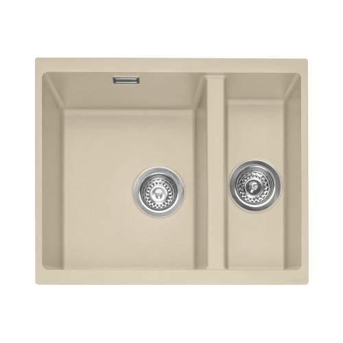 Caple Leesti 150 1.5 Bowl Undermount Granite Kitchen Sink - LEE150UDS
