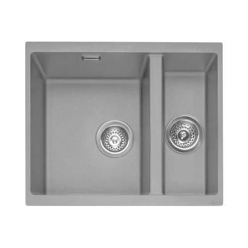 Caple Leesti 150 1.5 Bowl Undermount Granite Kitchen Sink - LEE150UPG