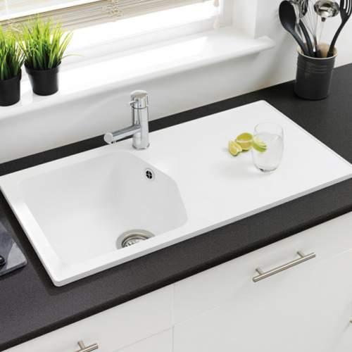 Astracast DART Compact 1.0 Bowl ROK Granite Kitchen Sink