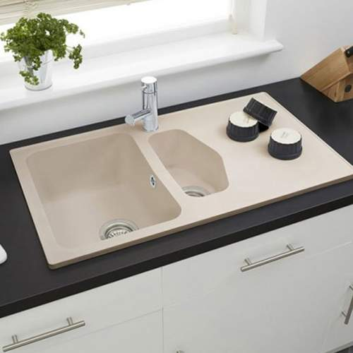 Astracast DART Compact 1.5 Bowl ROK Granite Kitchen Sink