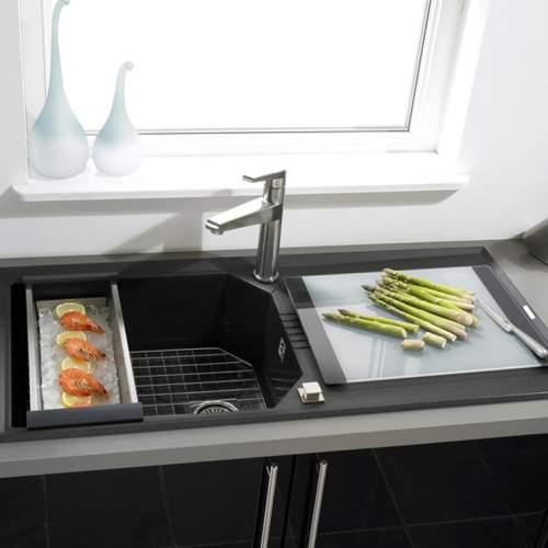 Astracast HELIX 1.0 Bowl ROK Granite Kitchen Sink