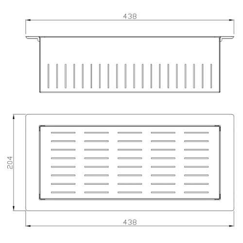 Abode Metrik Stainless Steel Colander