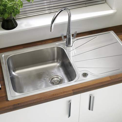 Astracast KORONA 1.0 Bowl Stainless Steel Kitchen Sink