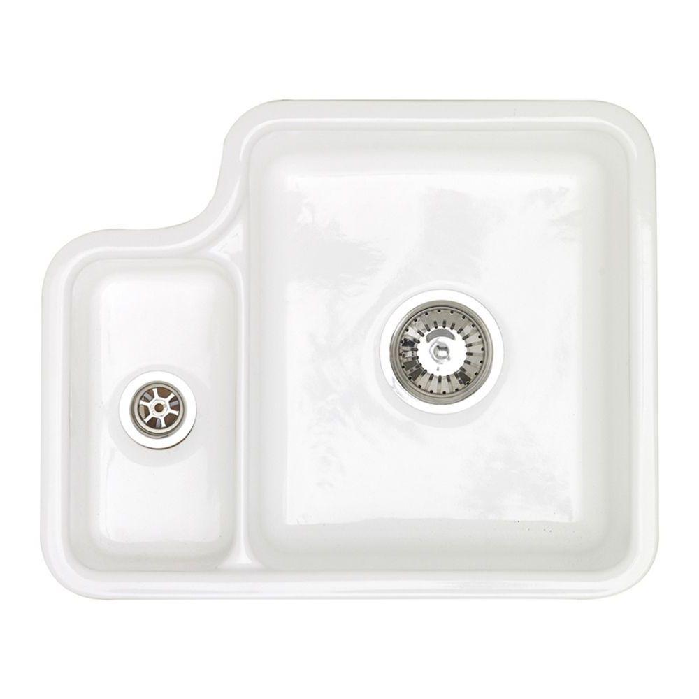 Astracast Lincoln 1 5 Bowl Undermount Ceramic Kitchen Sink