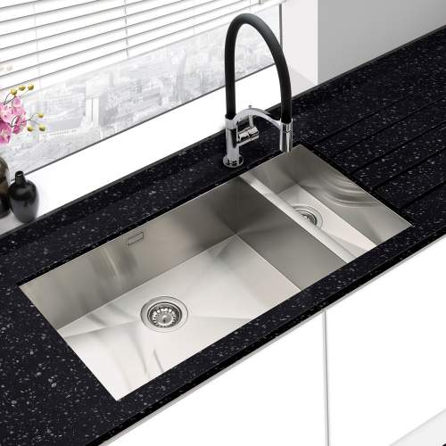 Bluci KUBE 6518 1.5 Bowl Large Kitchen Sink