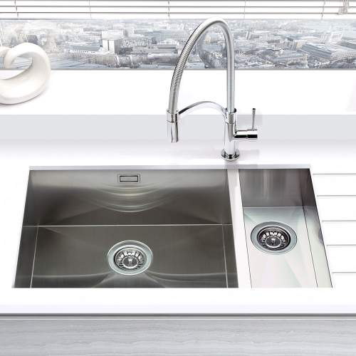 Bluci KUBE 5018 1.5 Bowl Kitchen Sink