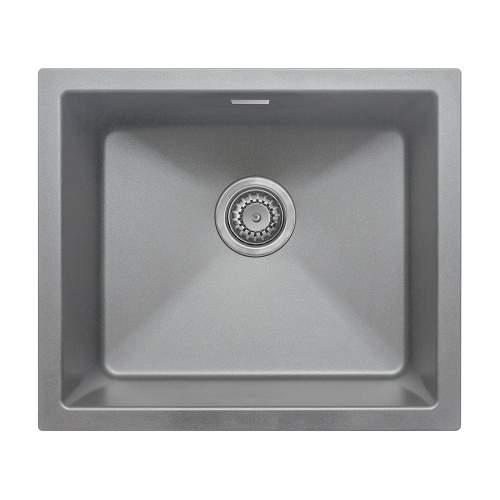 Bluci ACUTE G47 Single Bowl Grey Granite Sink
