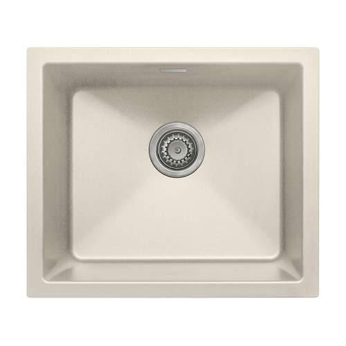 Bluci ACUTE G47 Single Bowl Cream Granite Sink