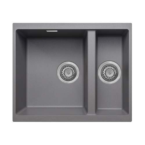 Bluci ACUTE G3314 1.5 Bowl Undermount Grey Granite Sink