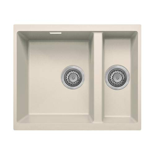 Bluci ACUTE G3314 1.5 Bowl Undermount Cream Granite Sink