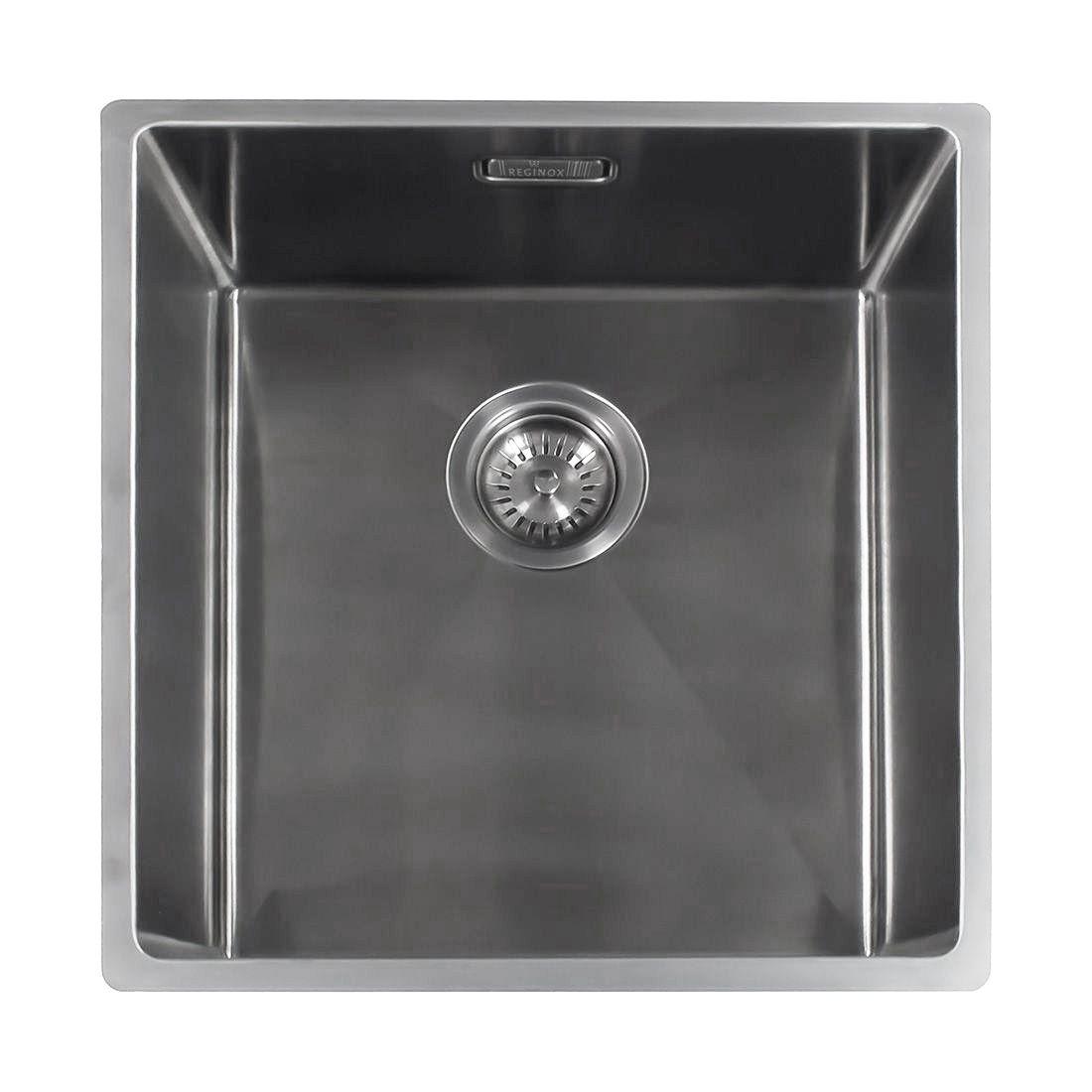 Reginox Miami 40x40 Single Bowl Kitchen Sink Sinks Taps Com