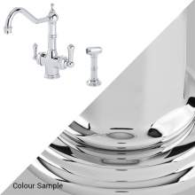 Perrin & Rowe 1770 Celeste 3-in-1 Instant Hot Tap with Rinse in Chrome