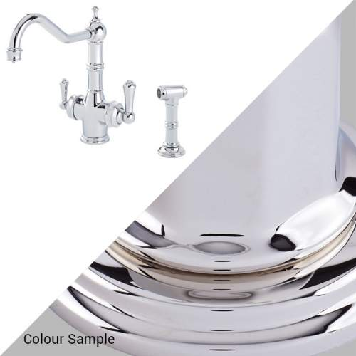 Perrin & Rowe 1770 Celeste 3-in-1 Instant Hot Tap with Rinse in Nickel