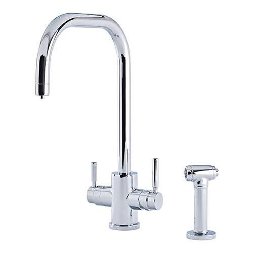 Perrin & Rowe 1714 Phoenix U-Spout 3-In-1 Instant Hot Tap with Rinse