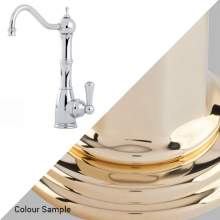 Perrin & Rowe Country 1323 Aquitaine Mini Instant Hot Water Kitchen Tap in Polished Brass