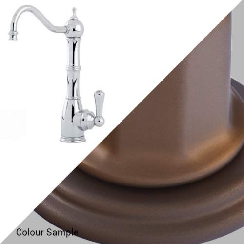Perrin & Rowe Country 1323 Aquitaine Mini Instant Hot Water Kitchen Tap in Bronze