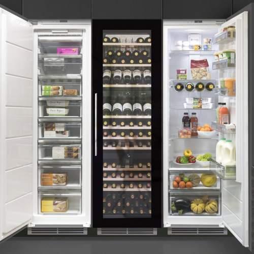 Caple WC1795 Triple zone wine cabinet