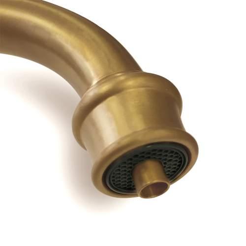 Perrin & Rowe 1970 Celeste 3in1 Hot Water Tap in Aged Brass
