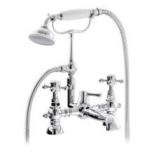 Abode AB2684 Sentiment Deck Mounted Bath Shower Mixer in Chrome