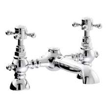 Abode AB2683 Sentiment Deck Mounted Bath Filler in Chrome