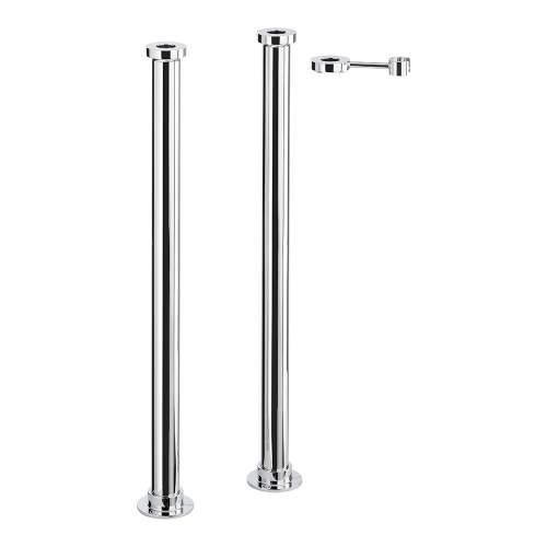 Abode AB2475 Sentiment Bath Filler Extension Legs in Chrome