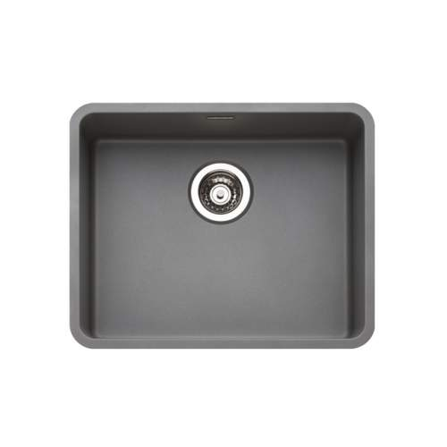 Reginox Regi-Color OHIO 50x40 Single Bowl Kitchen Sink - Atomic Grey