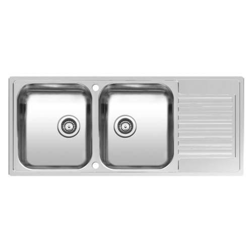 Reginox CENTURIO L30 Double Bowl Sink