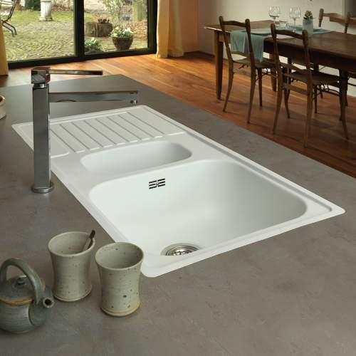 Reginox Regi-Color CENTURIO 1.5 Bowl Kitchen Sink Dimensions