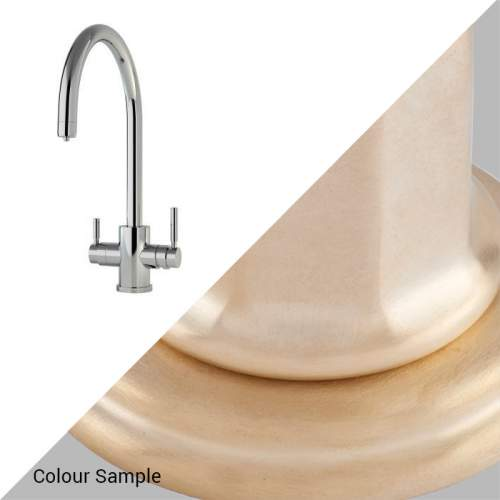 1912 Perrin and Rowe Hot water tap in Satin Brass