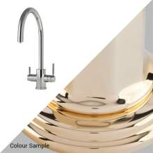 1912 Perrin and Rowe Hot water tap in Polished Brass