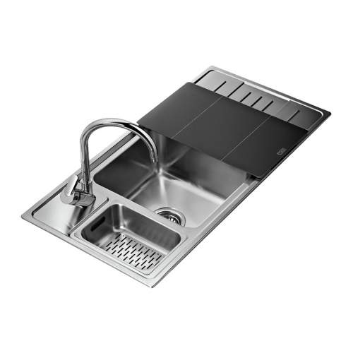 Teka STAGE 60 B 1.5 Bowl Stainless Steel Kitchen Sink