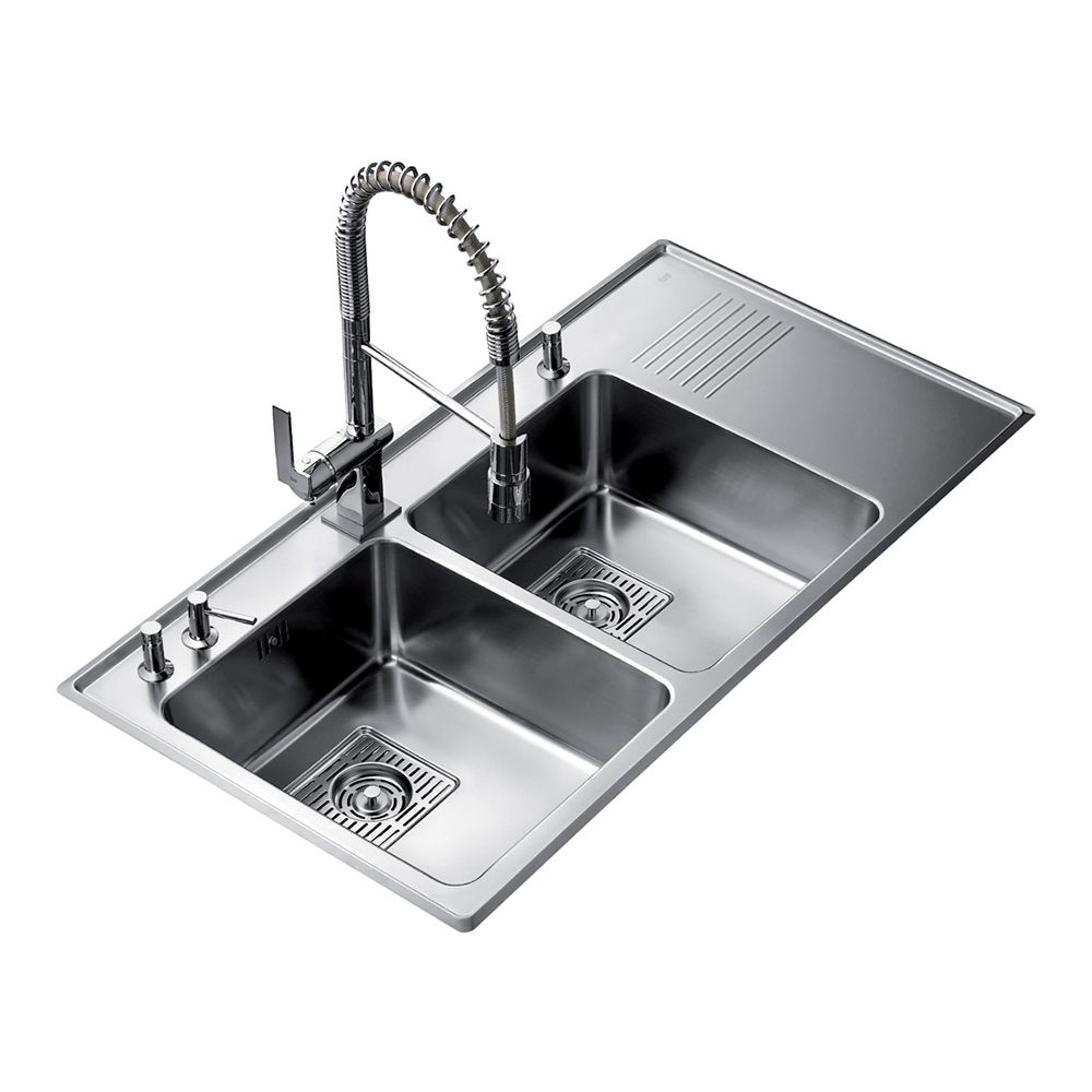teka kitchen sinks teka frame 2b 1 2d stainless steel kitchen sink sinks 2688